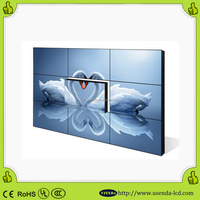 With samsung 55inch New arrival CCTV security ultra narrow bezel 5.3mm lcd video wall original panel free software