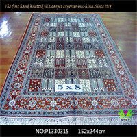 Different design mosque /muslim silk prayer carpet for sale