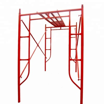 TSX189615 SCAFFOLD H FRAME WITH TUBULE 1200mm width X 1500-1900mm height