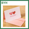 Heart Shape Handmade New Year Greeting Card Paper Wholesale