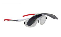 TR90 sports sunglasses with optical insert lens