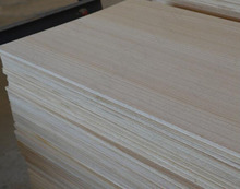 Factory Supply Solid Paulownia Wood Drawer Board