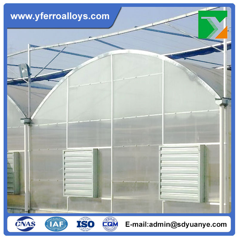 Agricultural Multi Span Plastic Green House For Commercial Vegetable Growing