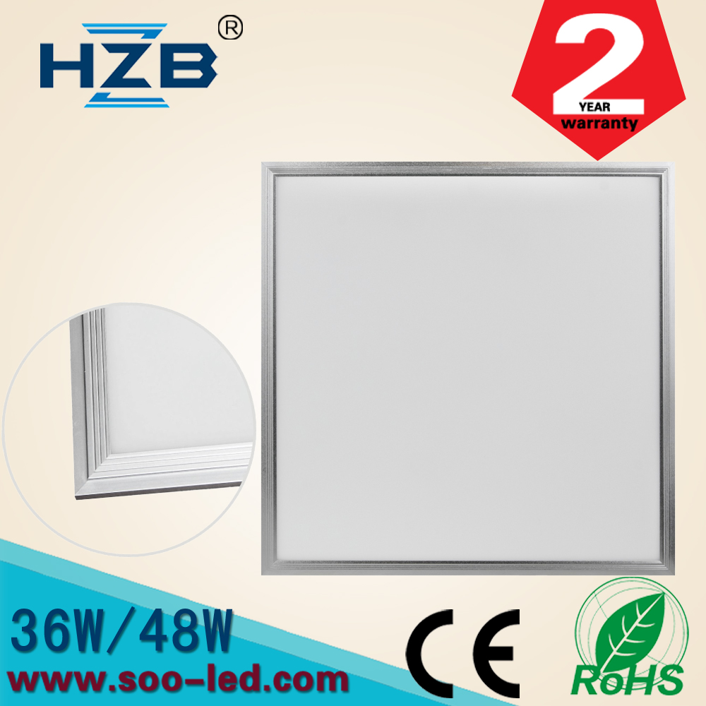 No Light Leak recessed Ceiling Hidden 60x60 LED SMD2835 Panel Lighting With BIS Driver