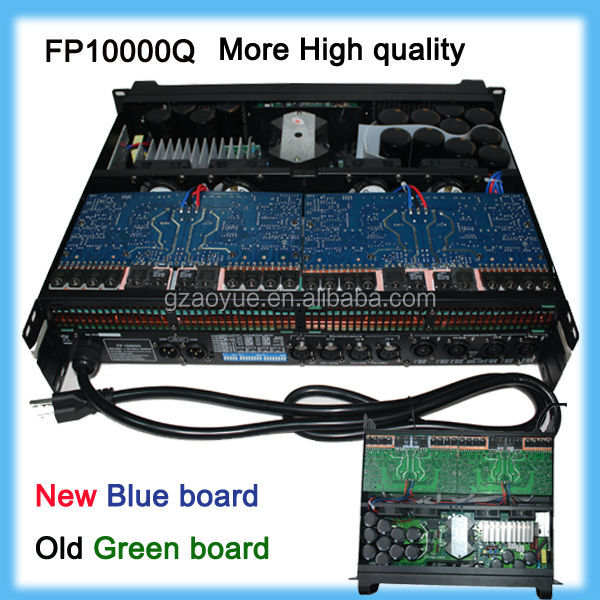Manufacturer high quality 1000w subwoofer amplifier fp10000q