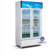 SC-F2P portable refrigerated display cooler pray for pairs white colour