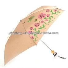 3 folding esprit kids umbrella beautiful toy handle for promotion