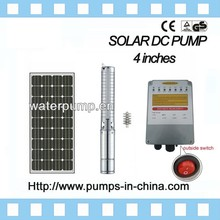 JINTAI stainless steel commercial solar submersible pump for agriculture