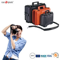 Hard durable solid handheld carrying case for SLR camera instruments storage packaging with IP67 waterproof RC-PS 290/1