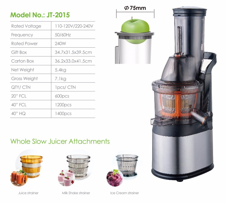 Slow Juicer Carrots : National Standard Multifunctional Professional Commercial Carrot Juicer Machine - Buy Carrot ...