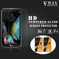 Promotion Price!!Brand Vmax Ultra clear 0.33mm 2.5D 9H Anti-shock Mobile Phone Tempered Glass Screen Protector for LG K10