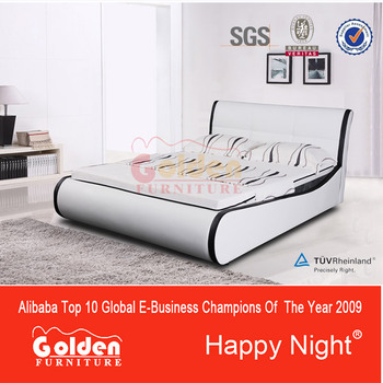 Alibaba Hot selling cheap price leather bed frame G1151