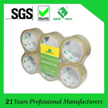 Factory Free Sampels BOPP Packing Tape and Carton Sealing Tape With High Viscosity