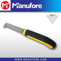 "1"" Carbon Steel TPR Scraper Cleaning Tool for Floor with Plastic Handle"