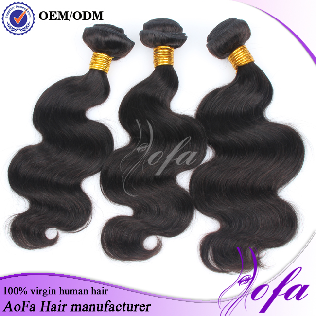 Good feedback wholesale brazilian loose wave hair extensions for white women