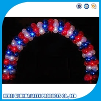 Top level First Choice led flashing birthday party balloon