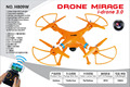 RC Drone/Quard Copter Mirage i-drone 3.0 with FPV Real Time Camera Wifi Transmision