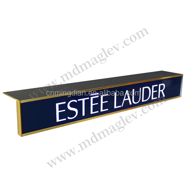 LED acrylic sign/logo rack, acrylic led sign pop display stand,LED customize acrylic logo/sign display