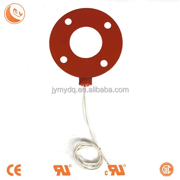 powder dehumidifying silicone rubber heaters for dust collector hopper