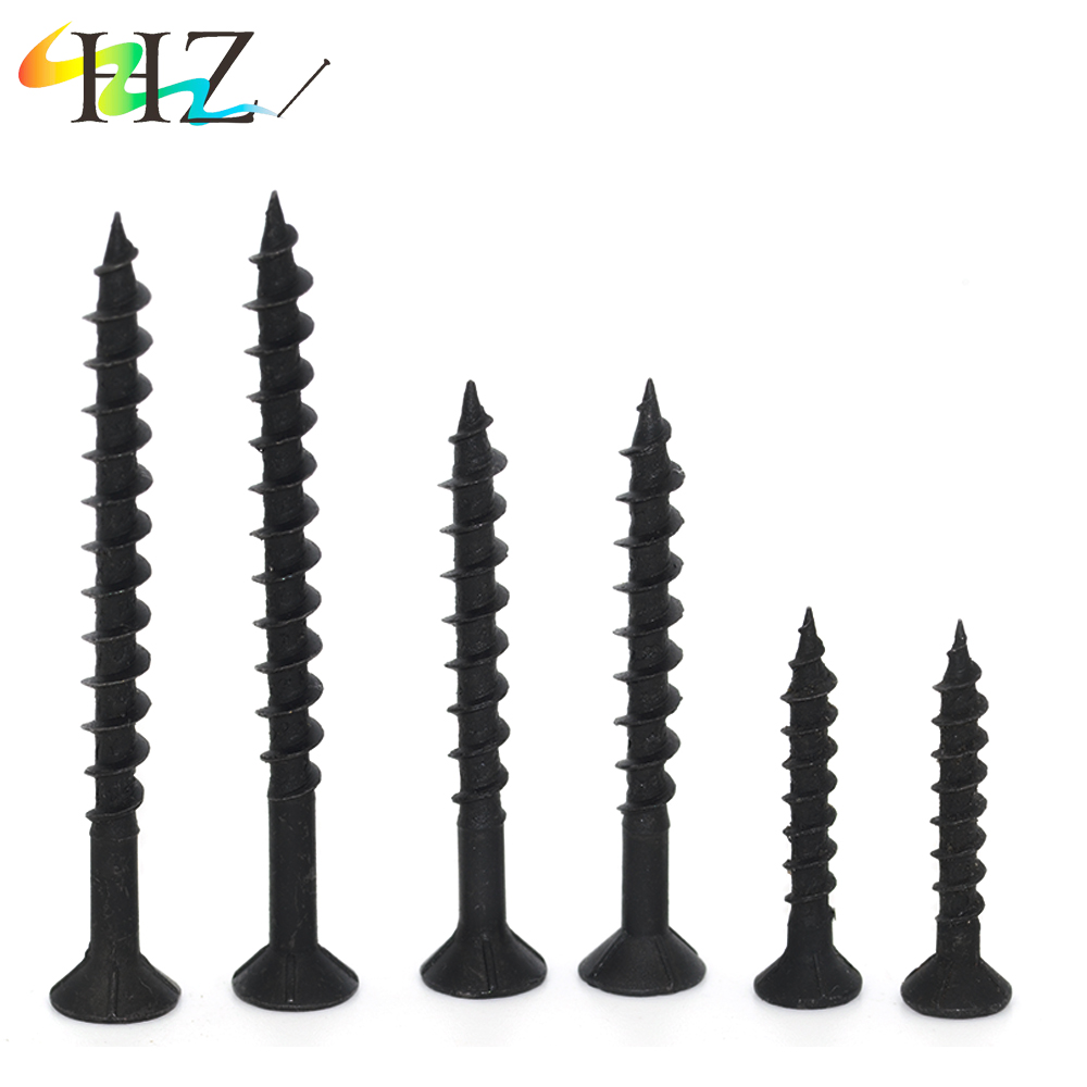Factory wood bugle head black plastic strip collated drywal <strong>screws</strong>