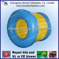 2013 hot selling colorful small inflatable wheel for playing on water for kids or adults