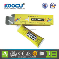 KOOCU Amazing E8000 Adhesive Sealant Glue for Clothes Shoes Jewelry Cell-Phone