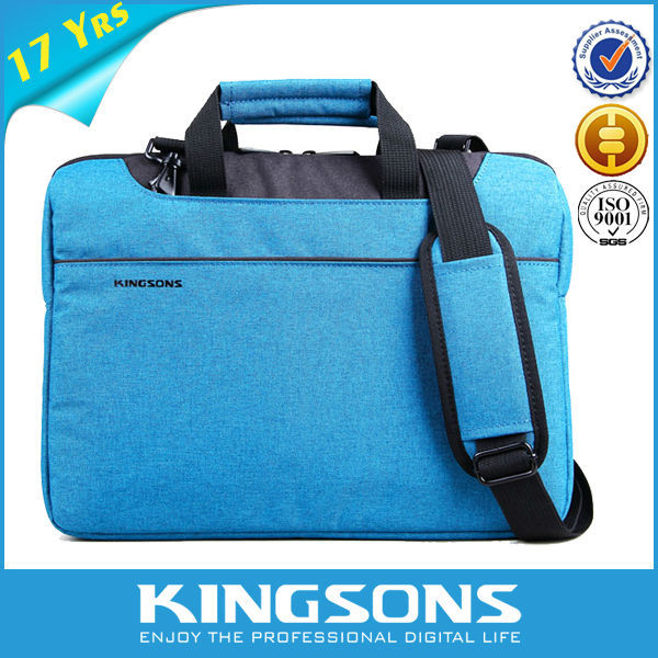 Fashion design computer waterproof custom eminent 11.5 inch laptop bag for man