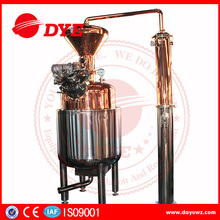 300L red copper industrial alcohol distillation equipment and machine