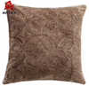Hot sale flannel fleece jacquard wholesale soft sofa cushion covers