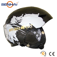 adult protective skiing helmet for snowing sport in mould