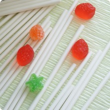 FDA and LFGB approved clear paper lollipop sticks