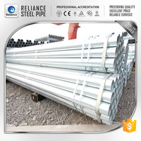 ERW hot dipped galvanized Metal Frame Pipes/Support Tubes