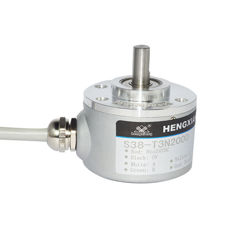 incremental solid shaft encoder 6000ppr p+f position solid encoder
