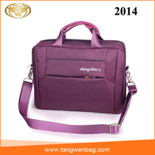 Wholesale fishionable strong nylon 15 inch laptop computer bag for women