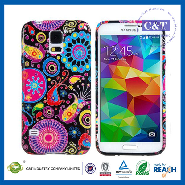 Popular Cell Phone for samsung s5 pc tpu case