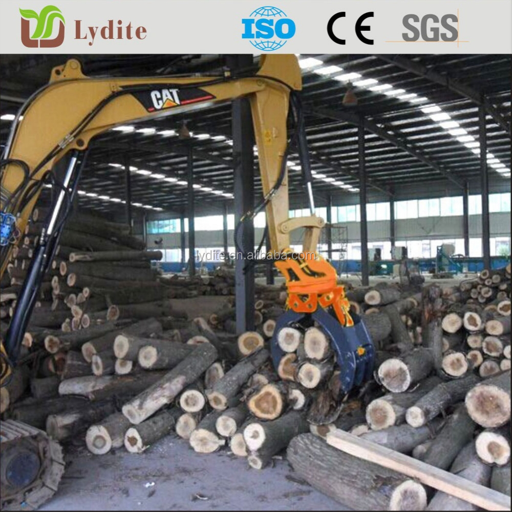 Heavy Duty Electric Hydraulic Scrap Grab For Excavator
