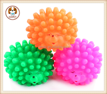 Cute little hedgehog (trumpet) pet cats and dogs toy rubber toys audible sound bite resistant Fun Toys