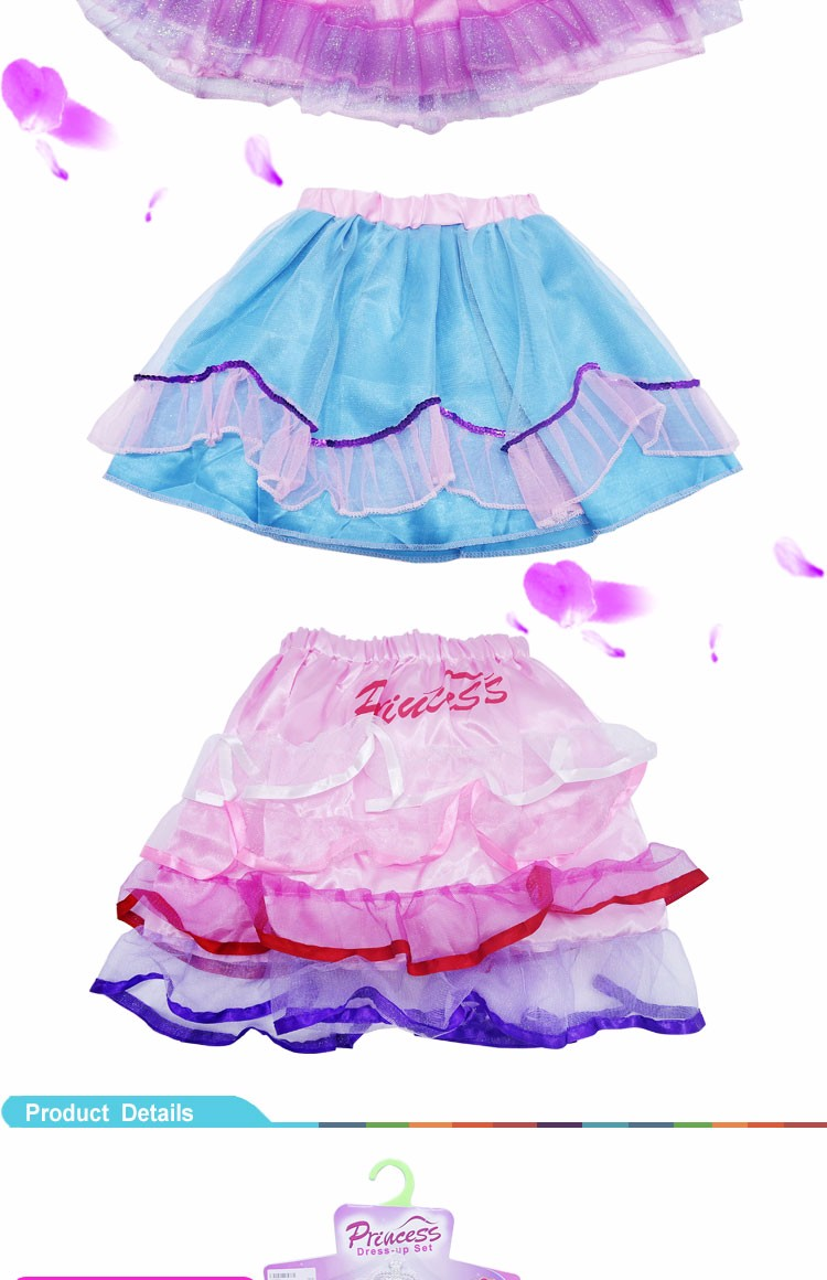 2016 Cute Baby Girls Short Skirt for Performance