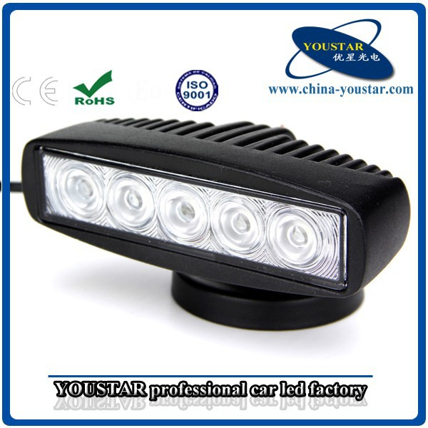 4x4 spot ip67 6000k 12v 15w work light, led work light bar, led work light 12v