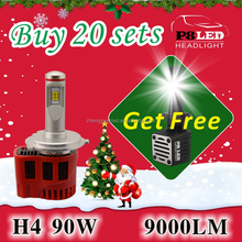 9000lms luxeon MZ led car h4 led headlight bulbs sbt japan used cars h4 xenon kit