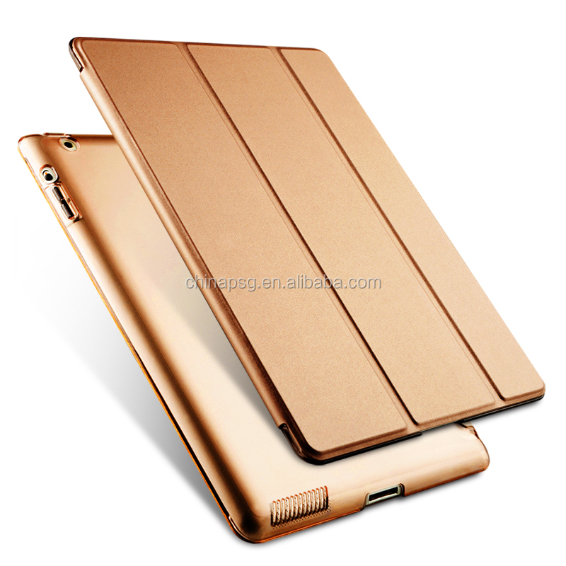 Wholesale oem leather case custom genuine leather tablet pc case for ipad air 2 , pu leather tablet case for ipad Air 1/2 1 2