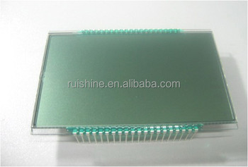 7 Segments monochrome LCD for appliance