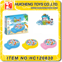 Environmentally friendly fishing toys electric music fishing game rotating disc