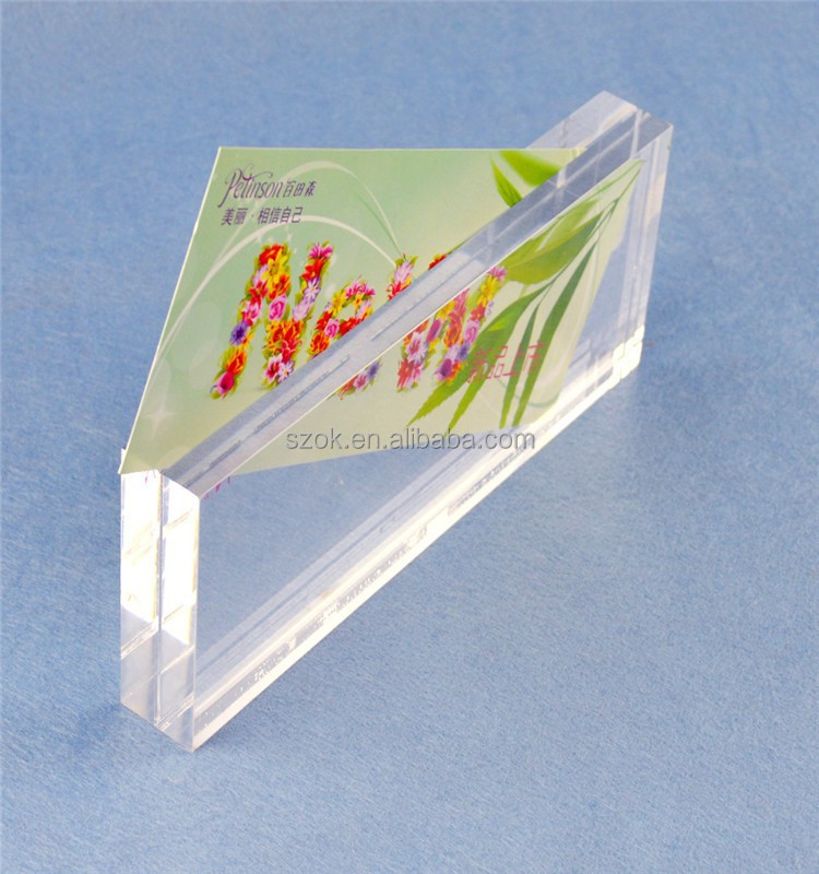 hot hot sexi photos clear acrylic photo block for sale