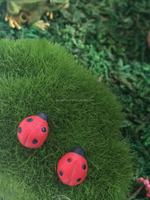 cute little animal ladybug for fairy garden (set of 4)