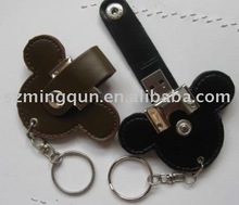 Usb flash drive ,leather usb