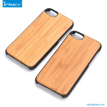 Universal Custom Design Your Own Blu Tpu Frame Mobile Cover Bamboo Cell Phone Case For Apple