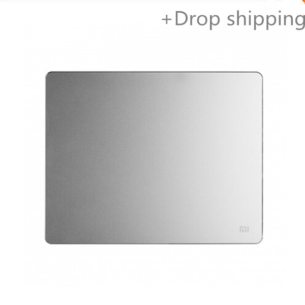 Metal Mouse Pad 24/30CM*18/24CM*3MM Luxury Simple Slim Aluminum Computer Mouse Pads Frosted Matte for drop shipping