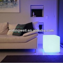 new style!led seasoning cube/led rgb cube/colorful PE material 40*40*40cm led cube