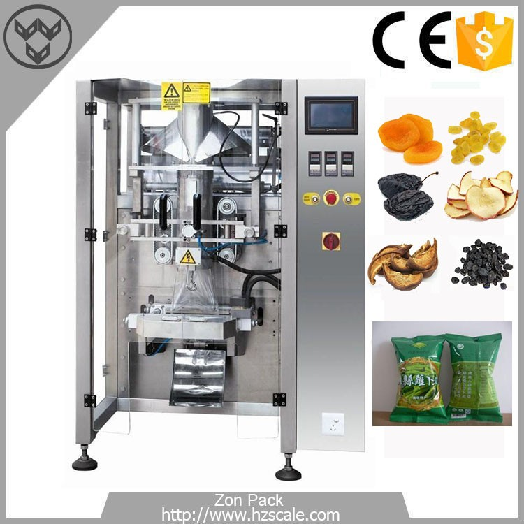 Automatic dry lemon dried coconut chunks munchy biscuit packing machine